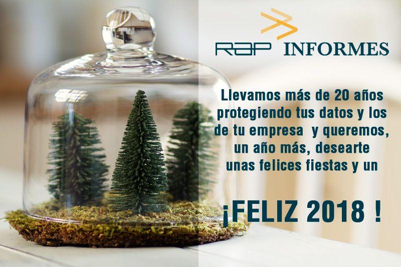 RAPINFORMES #LOPD Felices Fiestas