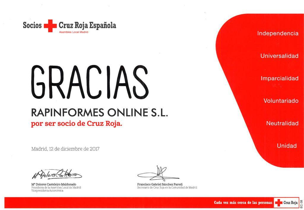 RAPINFORMES #LOPD Cruz Roja