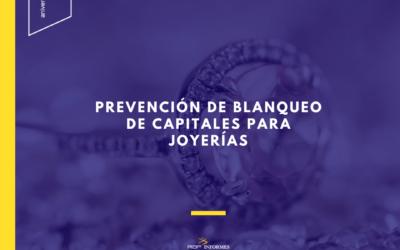 Prevención de Blanqueo de Capitales para Joyerías
